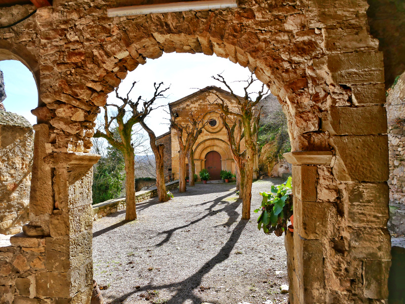 kirche santuari castell de montsonís