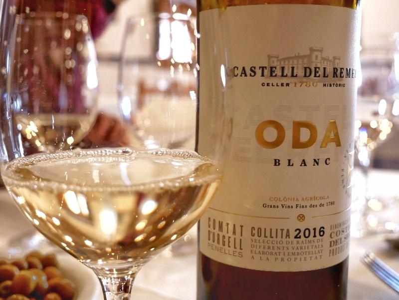 ODa Wein blanc castell del remei