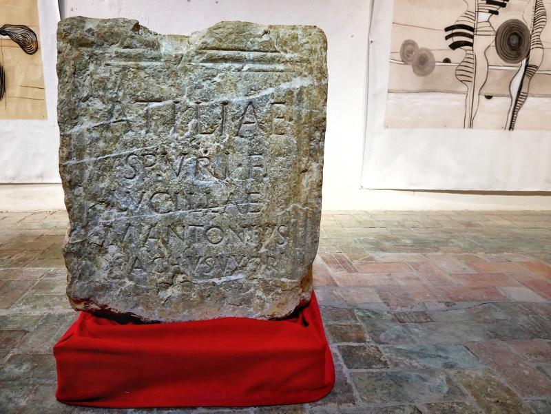 castell del Remei roemische steine galerie