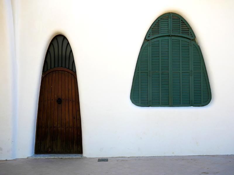 masia freixa terrassa tür und fenster