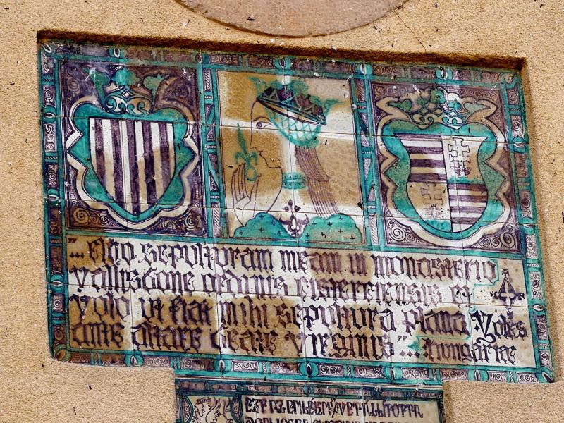 inschrift Kloster Vallbona de les Monjes Monestir
