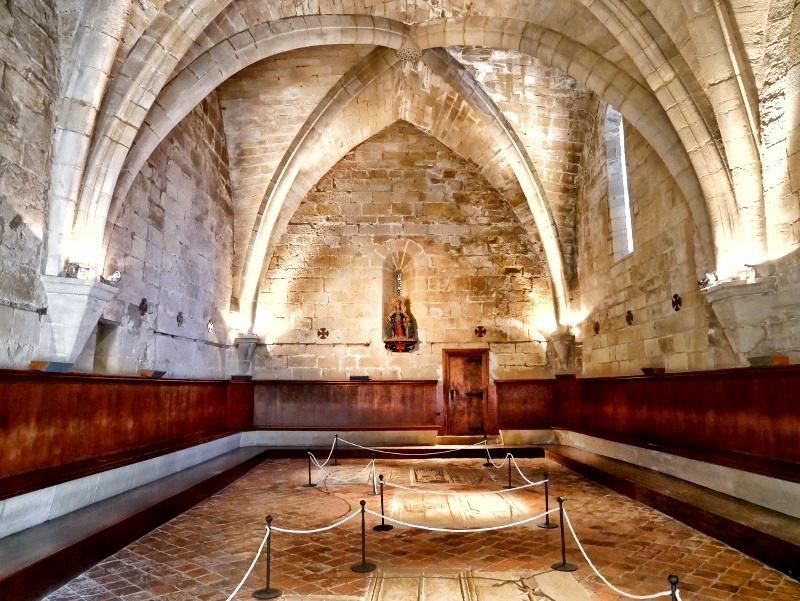 kapitelsaal Kloster Vallbona de les Monjes Monestir