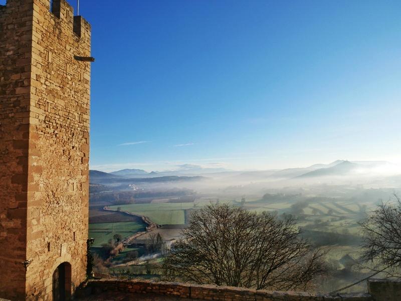 aussicht castell de montsonís