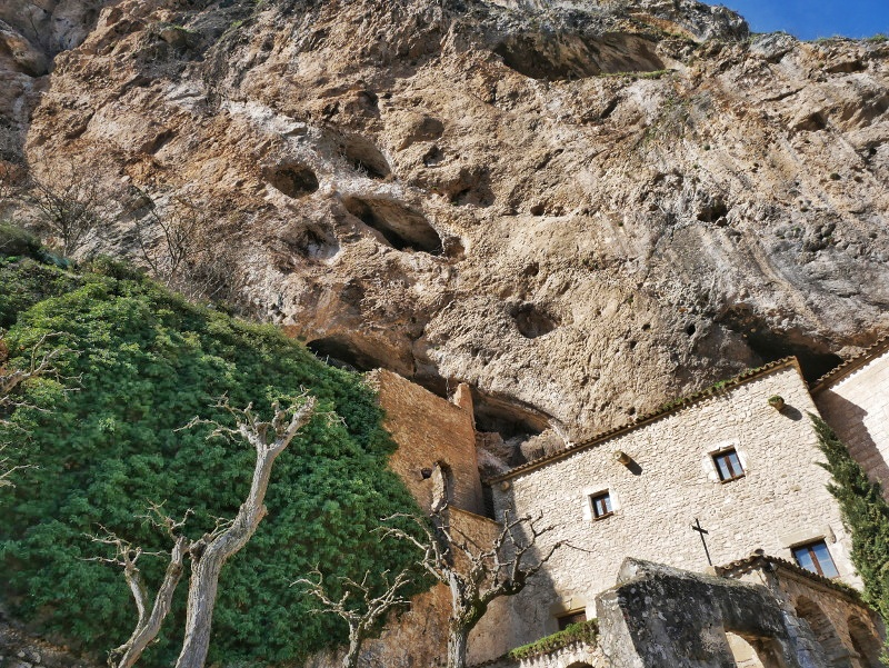 kloster felsen castell de montsonís