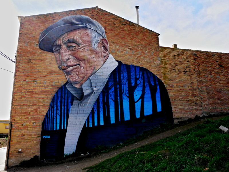 penelles sabotaje al montaje graffiti