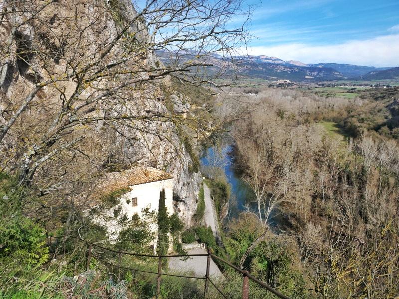 castell de montsonís Sanuari verlassenes Kloster rio Segre