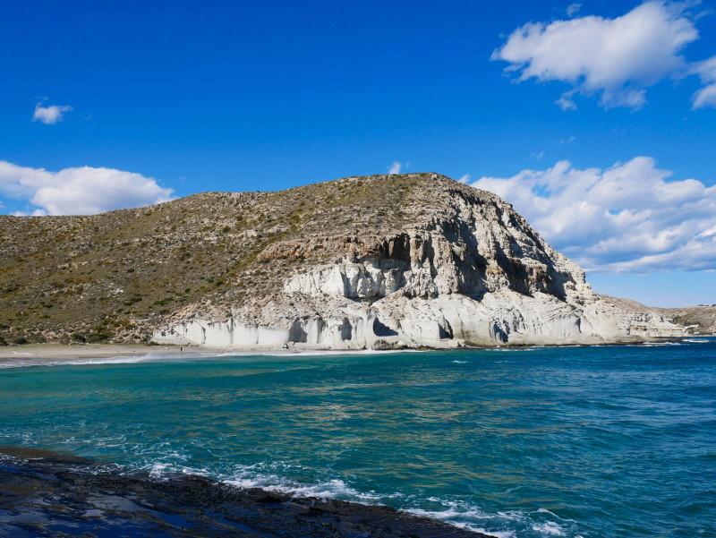 Cabo de gata playa de enmedio