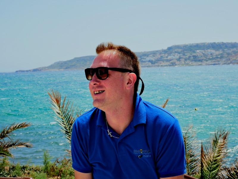 Tauchen auf Malta aquaventure team eric