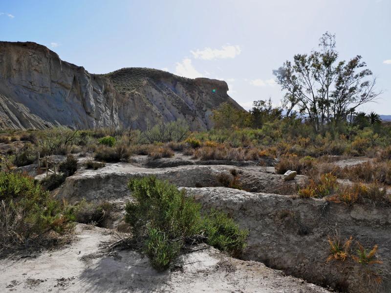 desierto tabernas felsen almeria