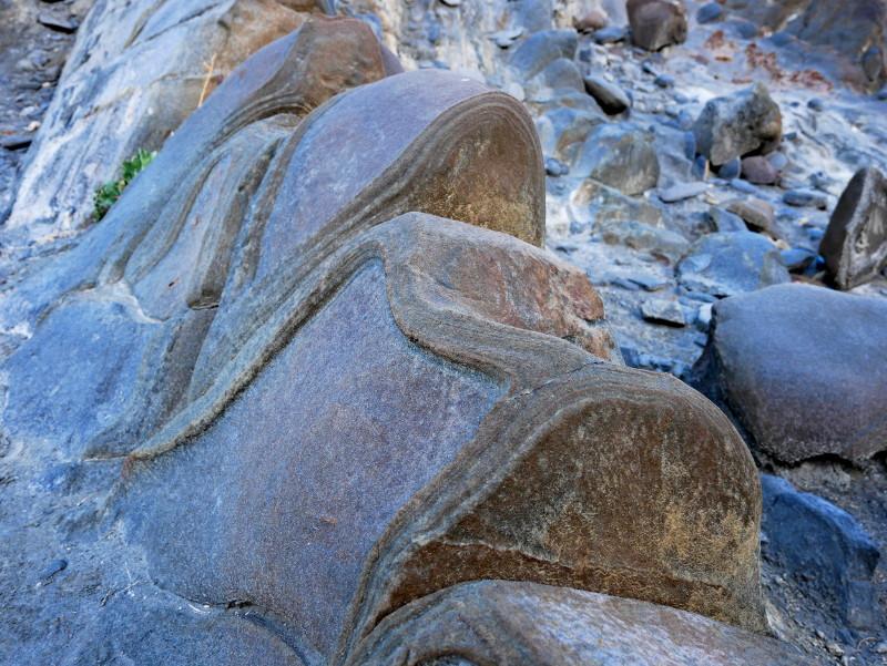 felsformation desierto tabernas felsen almeria