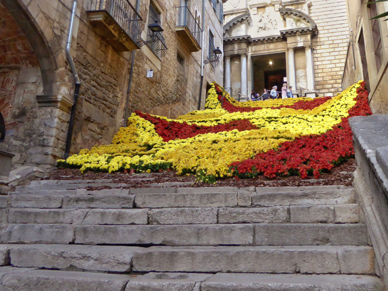 Temps de Flors – Girona blumen treppe