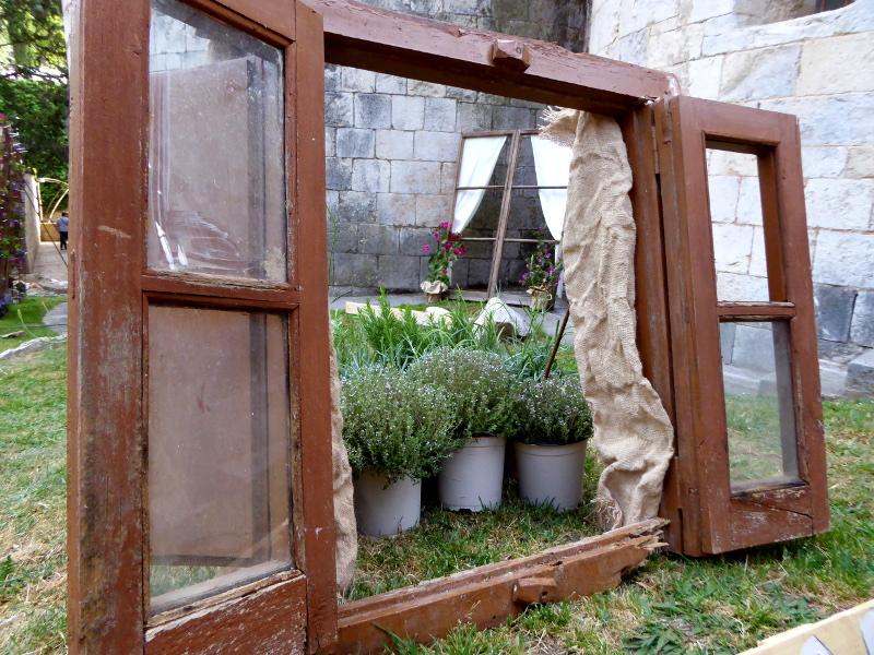 Temps de Flors – Girona altes fenster