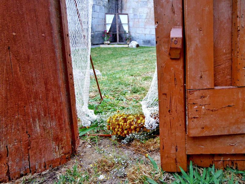 Temps de Flors – Girona alte türen und fenster