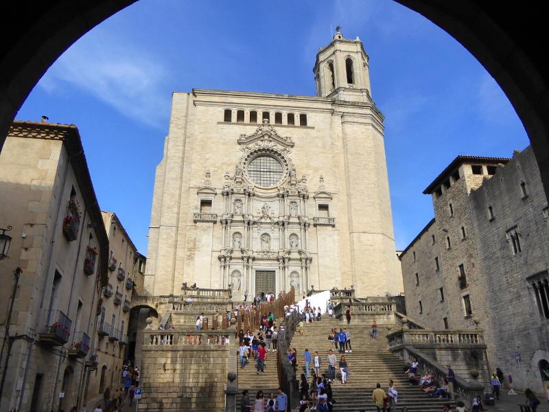 kathedrale girona Temps de Flors – Girona