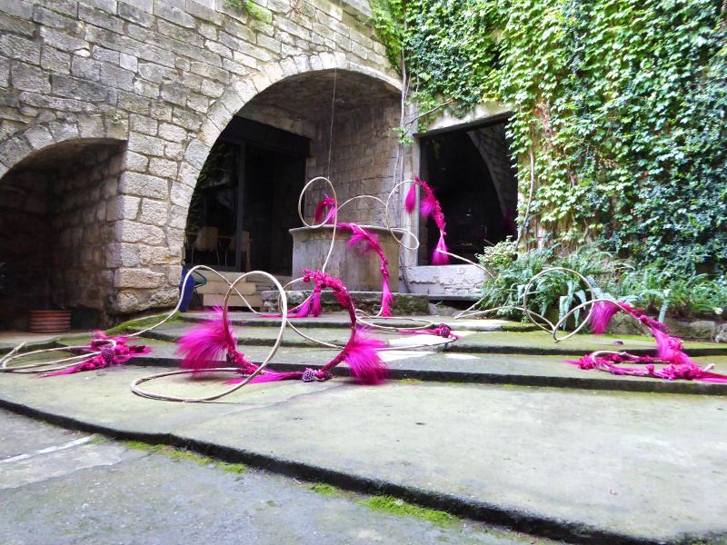 Temps de Flors – Girona innenhof
