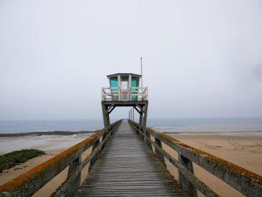 PIER luc sur mer perlmuttkueste normandie frankreich