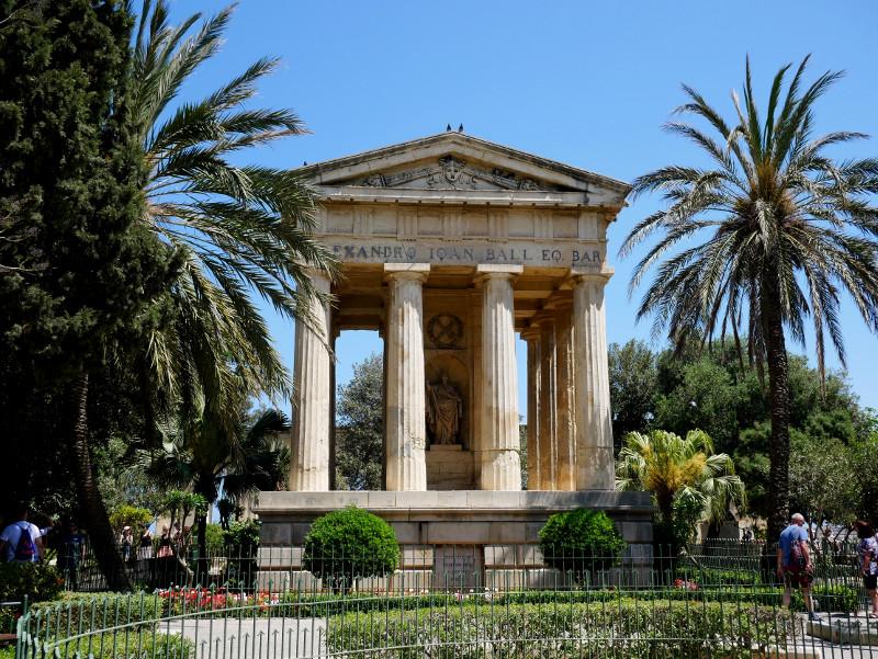 valletta malta lower barraka gardens