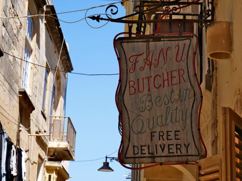 butcher birgu three cities malta