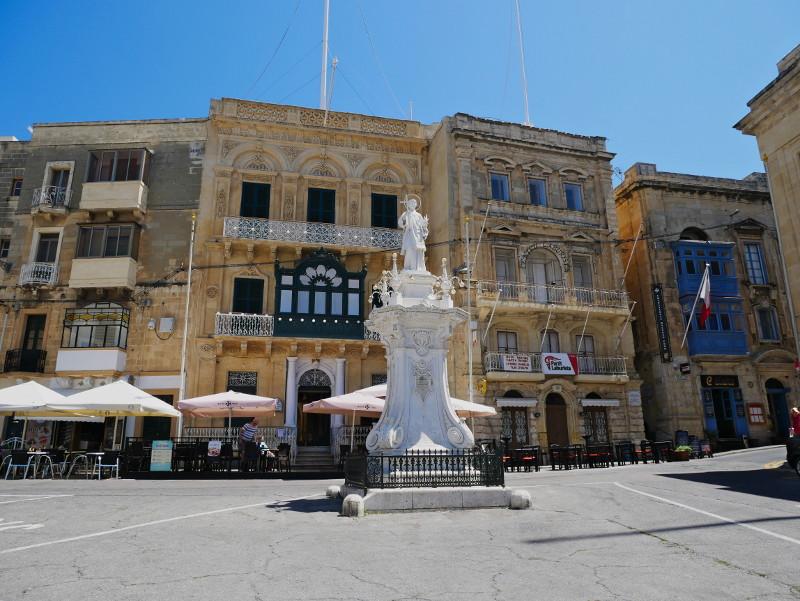 birgu three cities malta dorfplatz