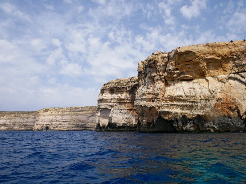 Gozo Malta dwerja bay