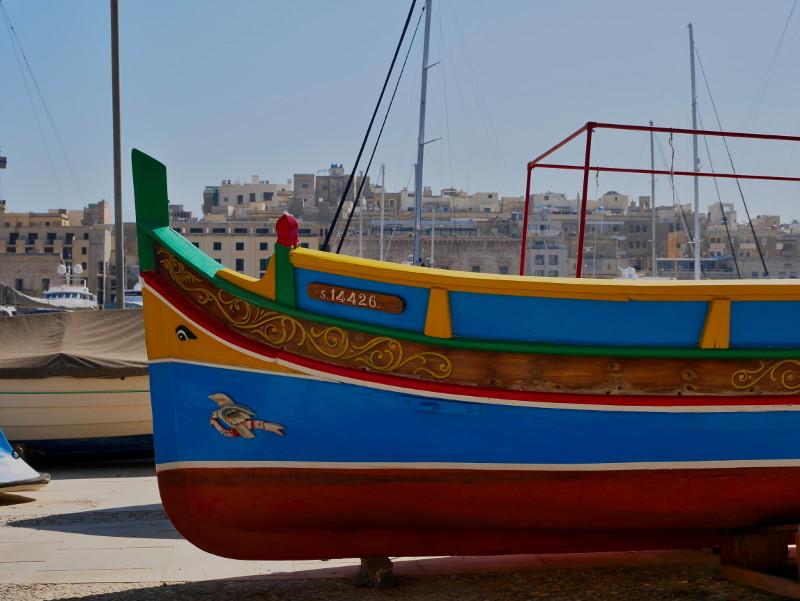 luzzu fischerboot birgu three cities malta