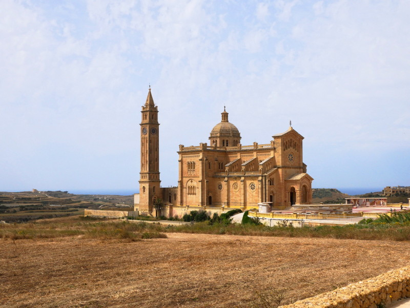 Gozo Malta kirche
