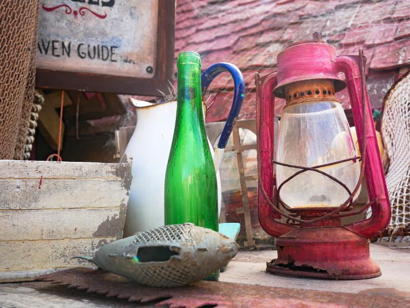 Popeye village auf malta licht