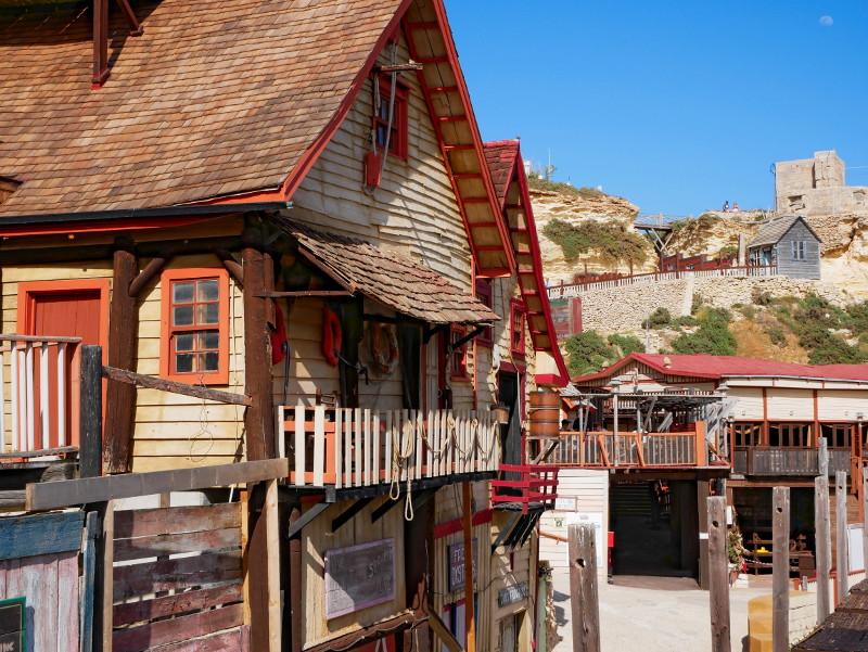 haus Popeye village auf malta
