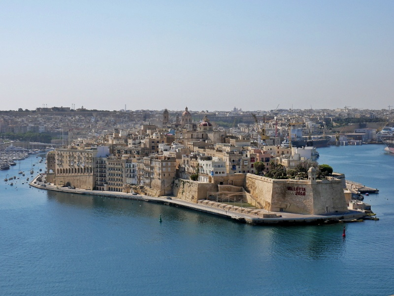 valletta blick auf threecities