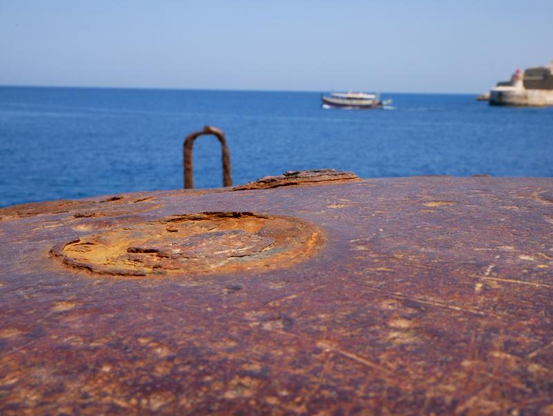 valletta boot meer rost