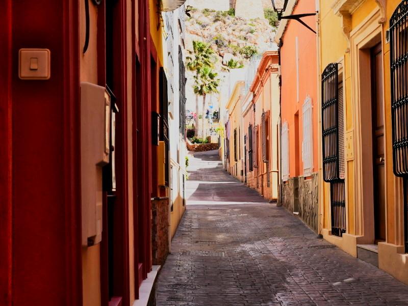 Almeria Altstadt