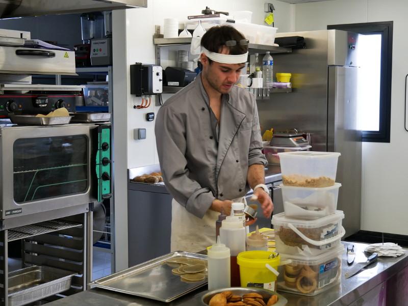 Chef restaurant degustation de l ile benoist