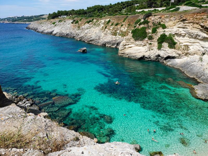 salento santa cesarea terme Spiaggia di Portomiggiano