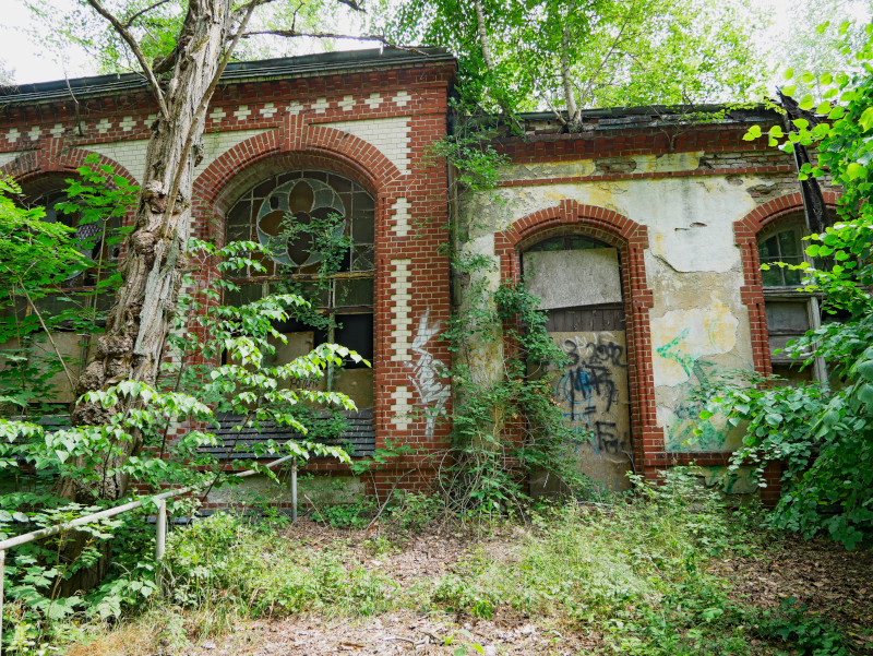 beelitz heilstaetten ruine klinik