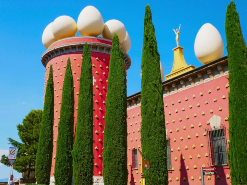dali museum figueres torre galatea Dalí