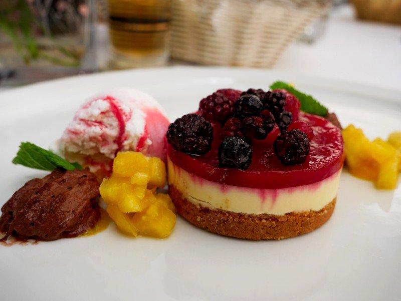 dessert springbach restaurant muehle