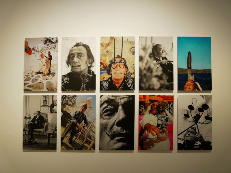 fotos dali museum ausstellung Dalí