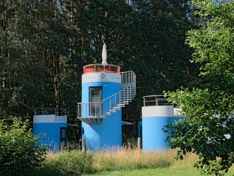 hotel tower forellenteich 25teiche forellenhof
