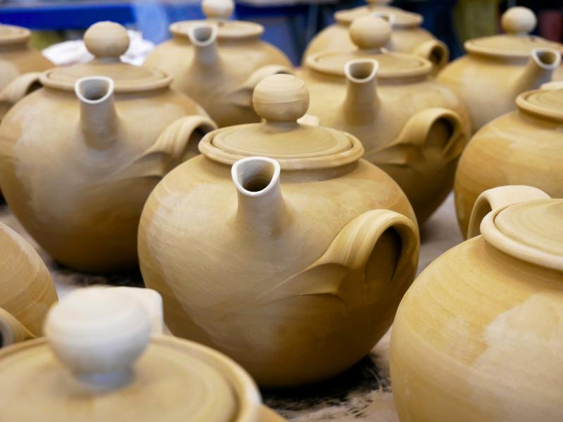 teekanne keramik koenigsblau schmerwitz