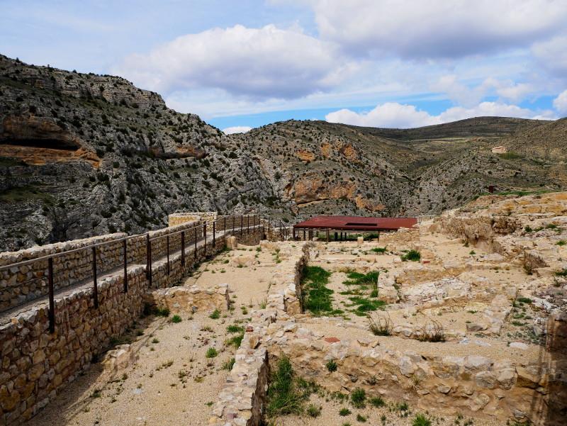 albarracin alcazar ruinen