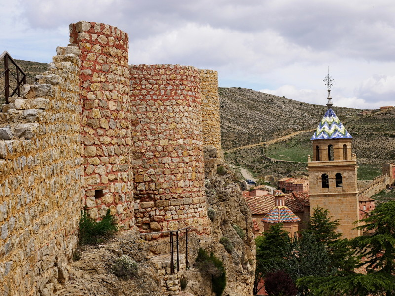 stadtmauer albarracín