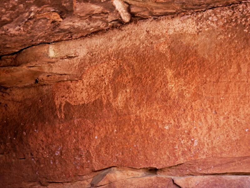 steinzeitliche Malereien albarracín