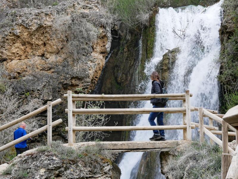 wasserfal in der Naehe von albarracín