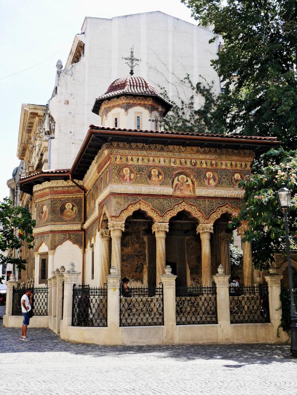 kirche kloster bukarest zentrum
