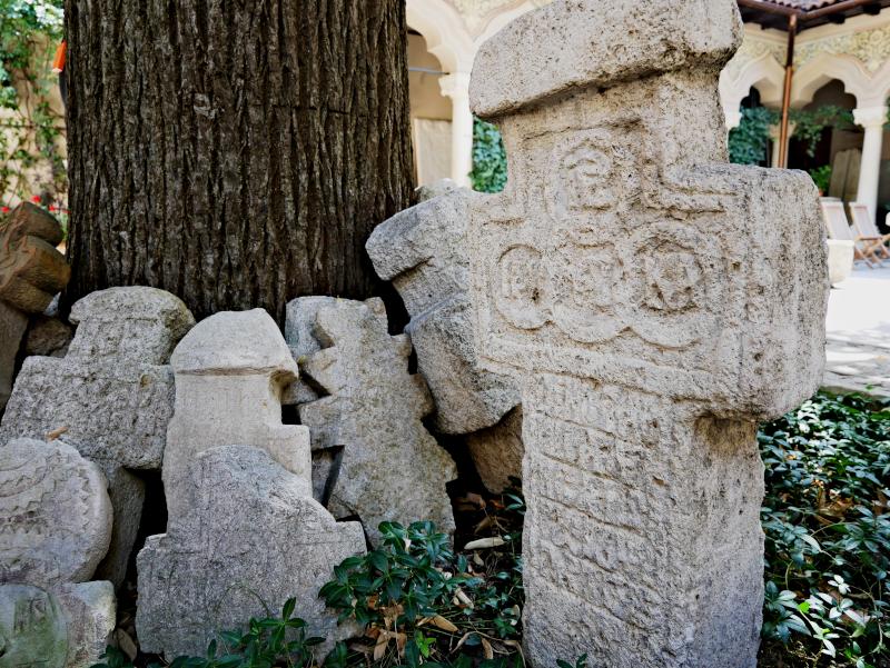kreuze kloster kirche bukarest