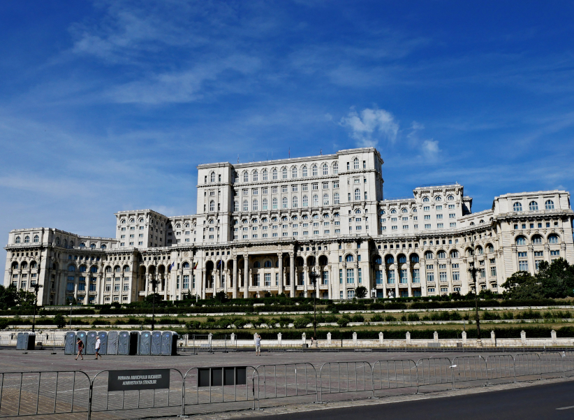 palast parlament bukarest