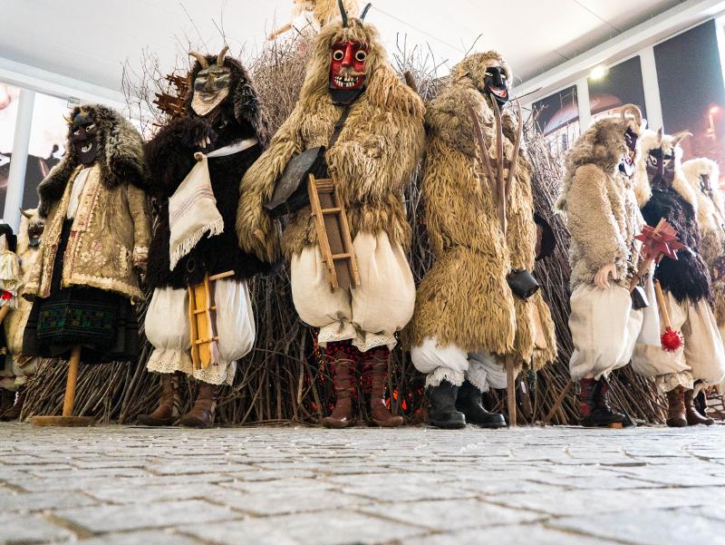 Museum buso mohacs karneval ungarn busojaras