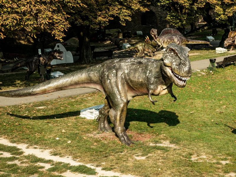 Serbien Belgrad Dino Park