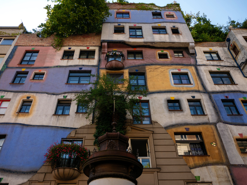 Wien Hundertwasser haus f