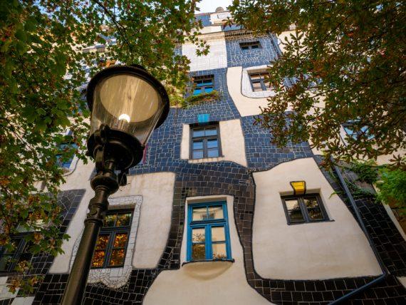 Wien Hundertwasser kunst haus